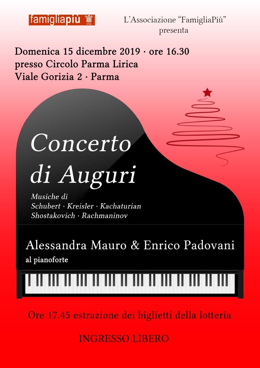 Concerto di Auguri 15 Dicembre 2019